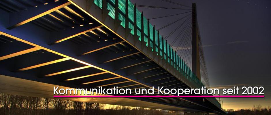 Slider Brücke mit Slogan