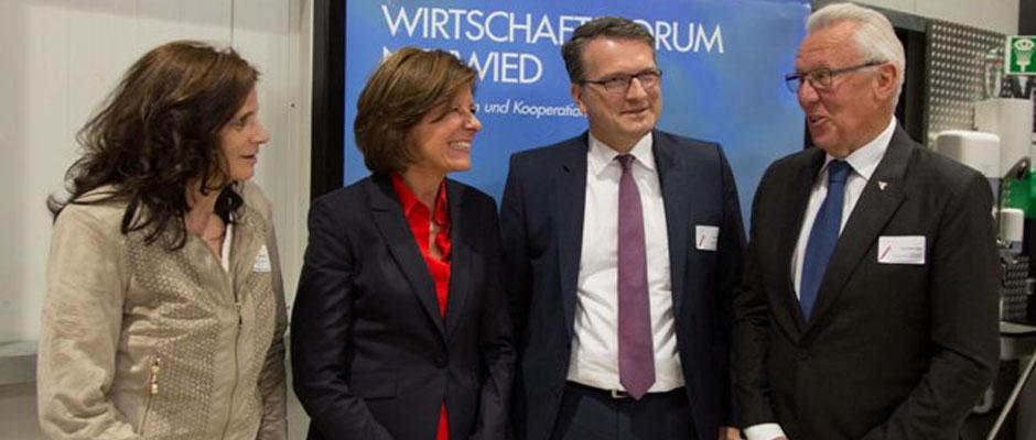 Ministerpräsidentin Dreyer zu Gast beim WirtschaftsForum
